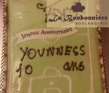 Boulangerie La Bonbonnière - Gâteau personnalisé